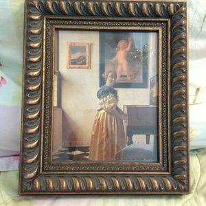 Art Print of Vermeer